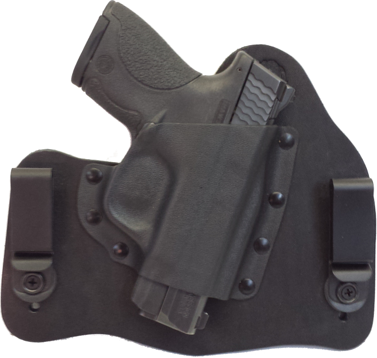 Premium Concealed Carry Smith Wesson M/&P 9  40 Compact  Hybrid Holster Most Comfortable Holster Available